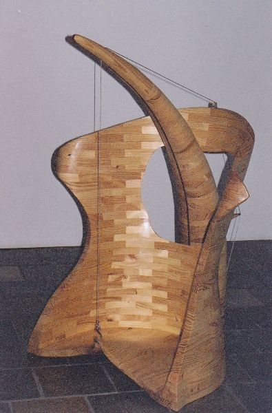 Organic wood sculpture 4