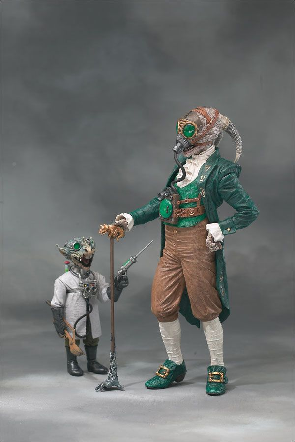 macfarlane toys: twisted land of oz - wizard with scientist