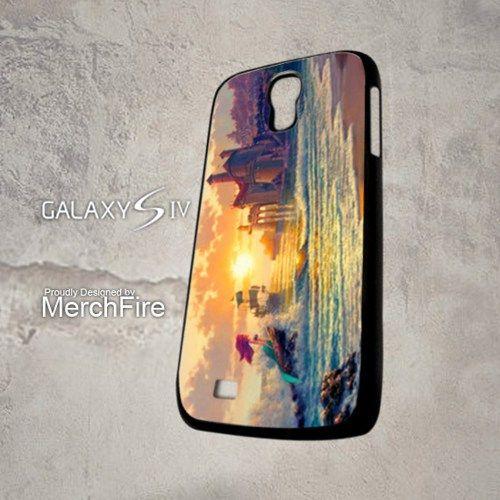 Disney Ariel little mermaid and castle Samsung Galaxy S4 Case   merchfire - Accessories on ArtFire
