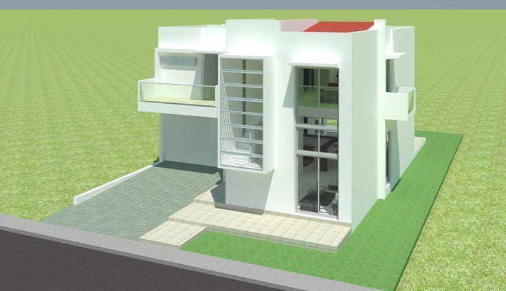 Casa de Dos pisos en 210 m2, para un conjunto cerrado en el norte de la ciudad de Montería.