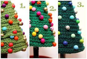 Kathi Pirati: arbres Strickliesel-Sapin (avec instructions)