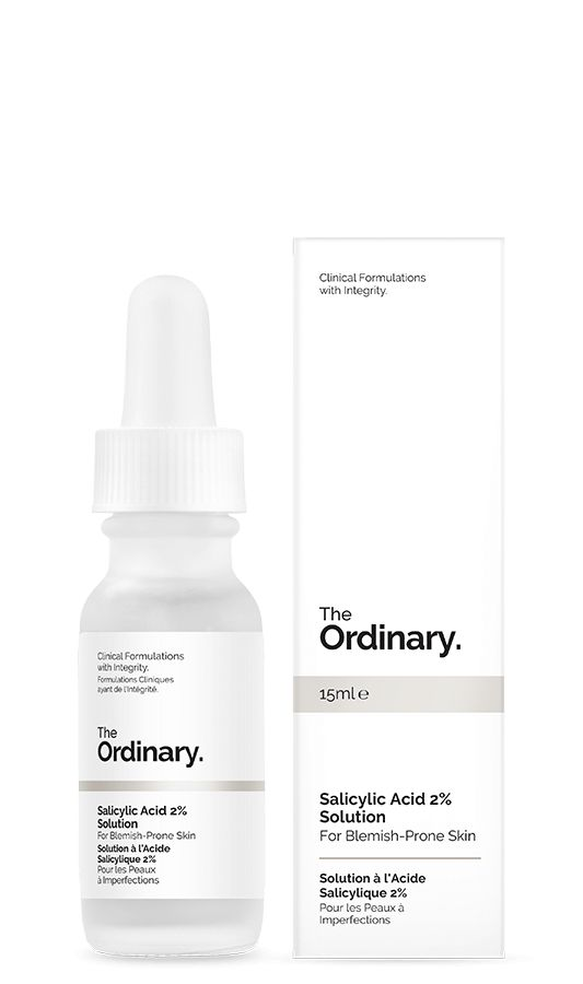 The Ordinary Salicylic Acid 2% Solution 15ml, $4.90 CAD
