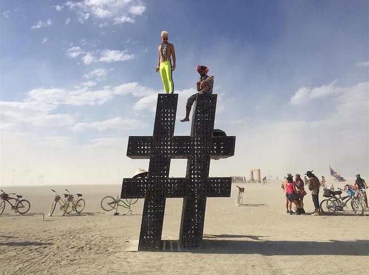 Best Burning Man Images On Pinterest Burning Man Art Beach - Fantastic photos of burning man counter culture event taking place in the desert
