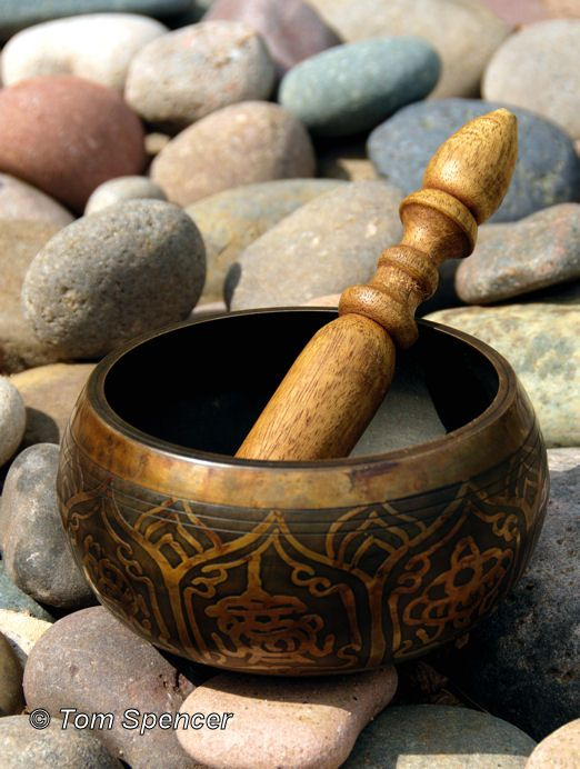 tibetan singing bowl sound makes a great space cleaning tool! #placementdesign
