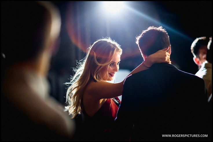 Guests on the dance floor at Lauren and Alex's wedding reception at One Whitehall Place -