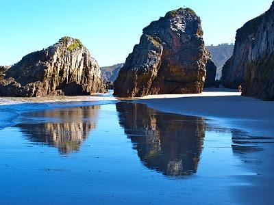 Playa La Franca, Ribadedeva. Asturias. Spain.