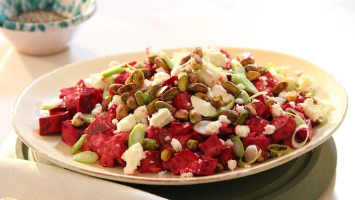 You'll find the ultimate Siba Mtongana Siba's Beetroot and Feta Cheese Salad recipe and even more incredible feasts waiting to be devoured right here on Food Network UK.