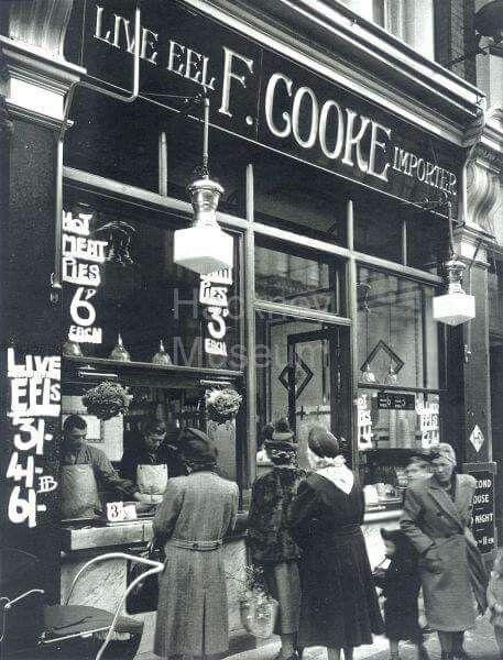 Late 40's Cooke's Pie and Mash Shop Kingsland Road Hackney