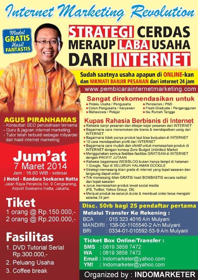 konsultan bisnis Jogja, jasa internet marketing Jogja ...