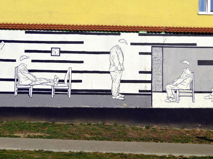 Mural from Lublin #mural #streetart #urbanart #lublin #poland #visitpoland #polandtravel #seeuinpoland