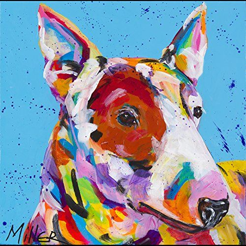 #art #Remember Spuds Mackenzie? Bud Light had a successful ad campaign for years using this #cool breed of dog. It's also the same breed that is part of the RCA l...