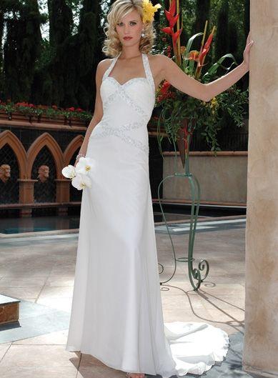 Belle Robe de mariée avec des betes en paillette