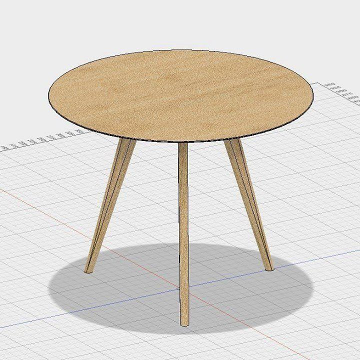 Sohvapöytä (vaikka ei meillä oo ees sohvaa) #puuseppä #puuala #osao #opiskelu #woodworking #woodwork #joinery #carpenter #design #studing #3dmodeling #table http://ift.tt/2hasFUc