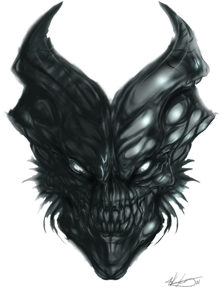 Demon SKull by MKounelakis on DeviantArt