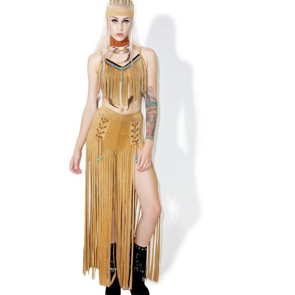 Sexy Indian Princess Costume ($80) ❤ liked on Polyvore featuring costumes, goddess halloween costume, sexy goddess halloween costume, fringe costume, indian princess costume and native american princess costume