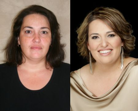 """Makeovers   Chata Romano  """"I thoroughly enjoyed the day; I truly appreciate your understanding and patience with me!"""" – Laura"""