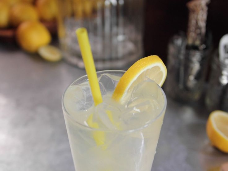 Ginger Lemonade Fizz recipe from Ree Drummond via Food Network