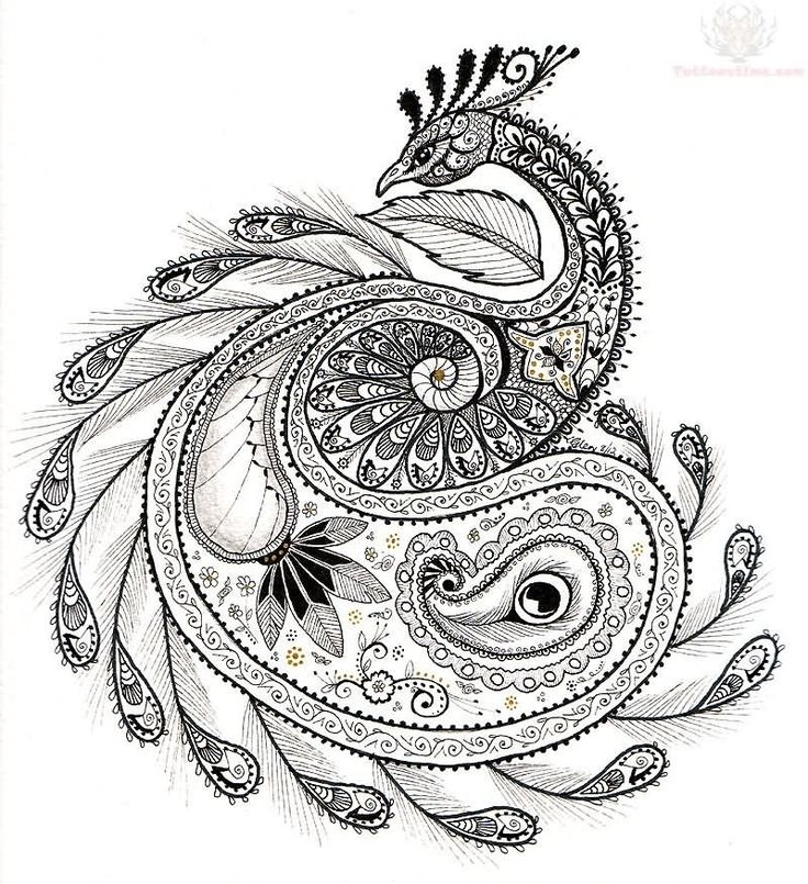 paisley tattoo designs - Google Search