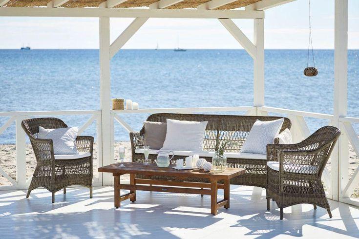 CHARLOT Sika-Design meble ogrodowe ze stołem JULIAN Willow House