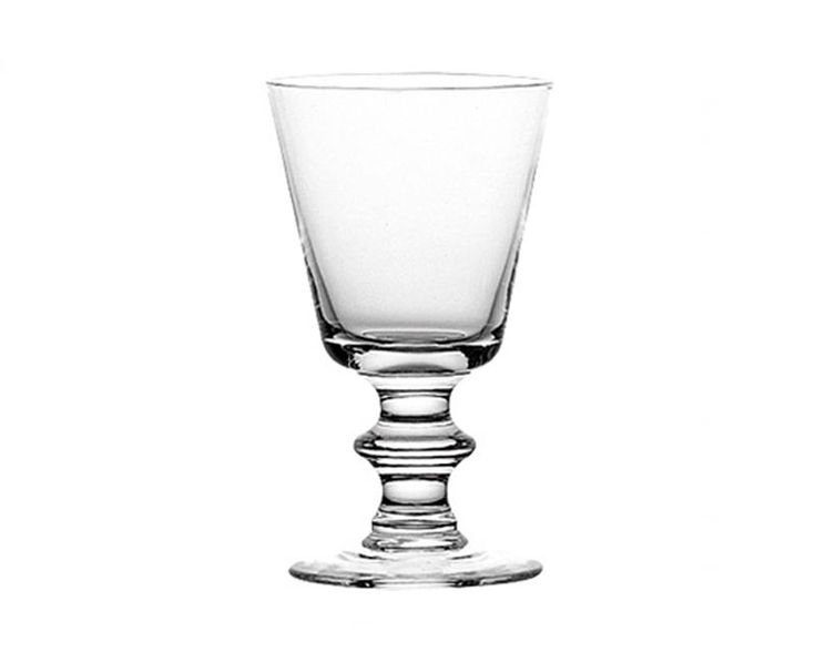 TheAntoine Glassby La Rochere, is a timeless classic pattern that's over 200 years old.This stemmed glass hasaconical-shaped bowl and button stem.The glas