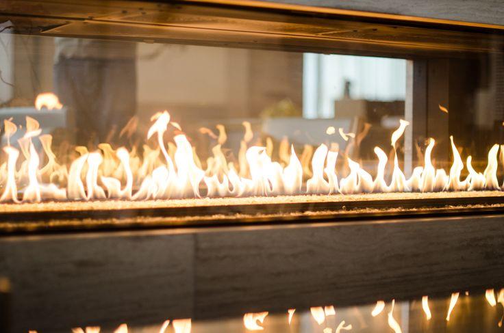 Lobby Lounge Fireplace