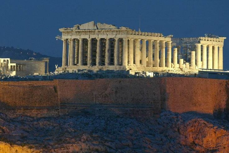 El Partenón (Atenas, Grecia)