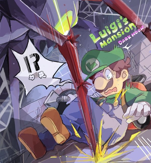 Don't stress it Weeg, I was scared slaggless with her too. She freaking looks like Airachnid for Boo's sake !!! luigi's Mansion