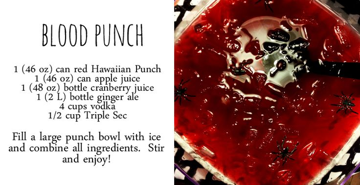 Blood Punch recipe