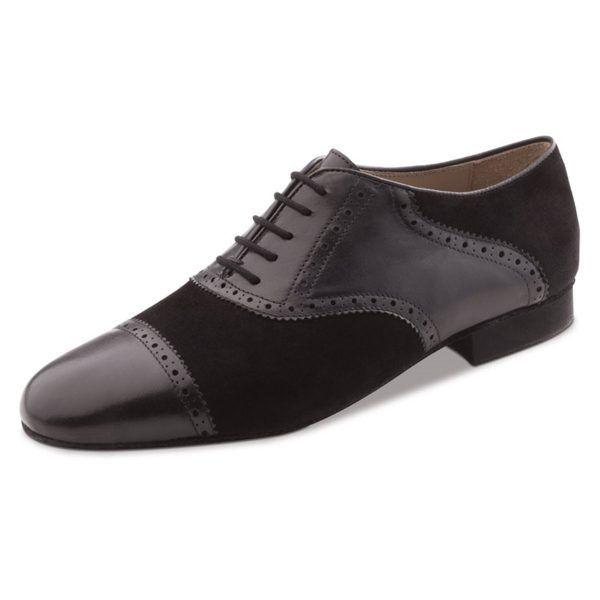 Suela De Baile – Hombre Zapatos Werner 28047 Piel Negro Kern SpGLjqzVUM