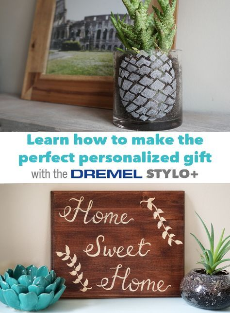 Make the perfect DIY gift with the Dremel Stylo+, a lightweight, ergonomic and versatile craft tool. It's the secret to creating truly personalized gifts ...