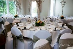 Rosebank set for an elegant Wedding Reception