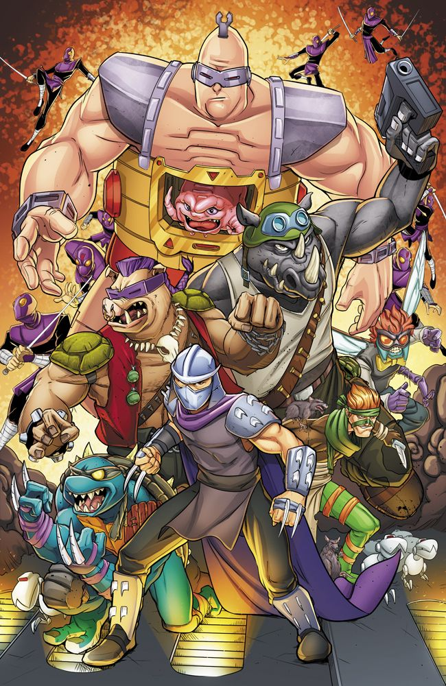Villains - TMNT - The Original