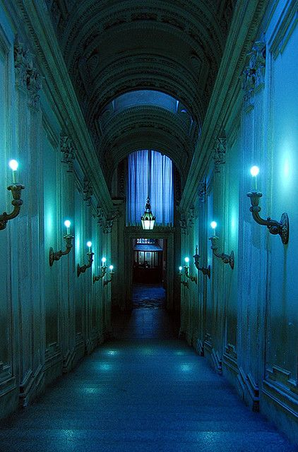 Blue Light by Kayla Clements on Flickr.: Lights, Museums, Color, Kayla Clements, Place, Photo