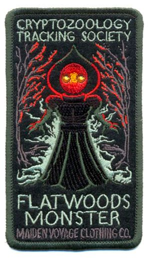 PREORDER Cryptozoology Tracking Society: Flatwoods Monster Patch