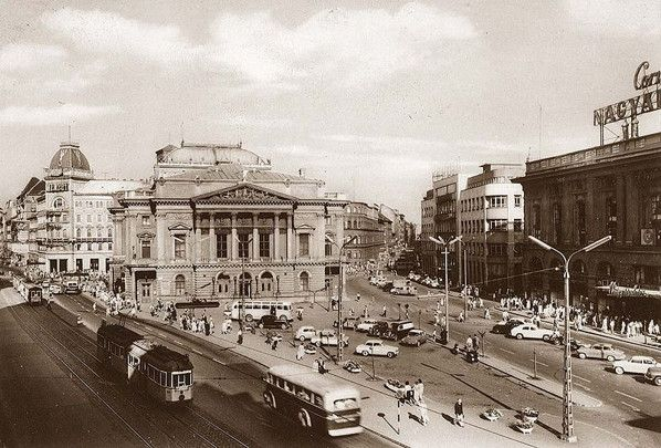 The National Theatre, Budapest [Demolished 1960s].
