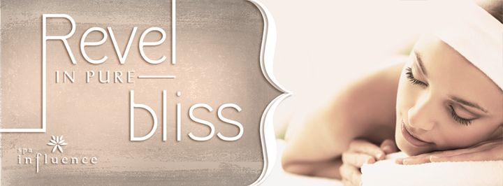 Spa Influence | Facebook cover photo #spa #relaxation #wellness