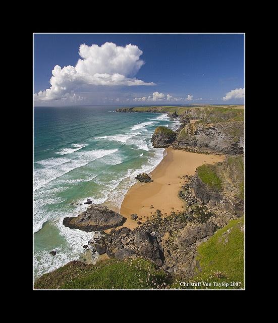 ✯ Bedruthan Steps - North Cornish Coast, England