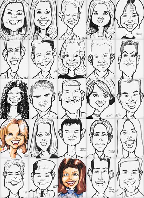 Caricatures From Photos: How To Draw A Caricature From A ...