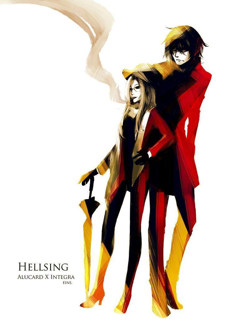 Alucard & Integra, Hellsing, love