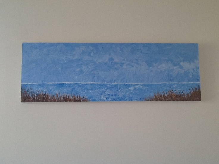 From the dunes  Acrylic
