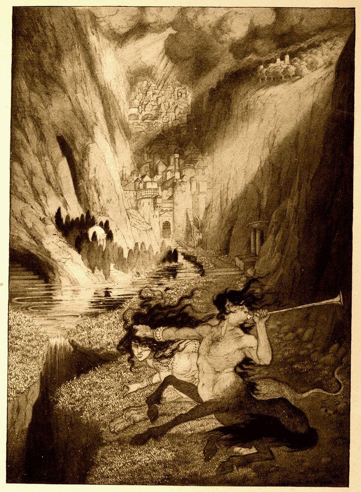 Sidney Sime - The Bride of the Man Horse, Zretazoola (1912) | by Aeron Alfrey