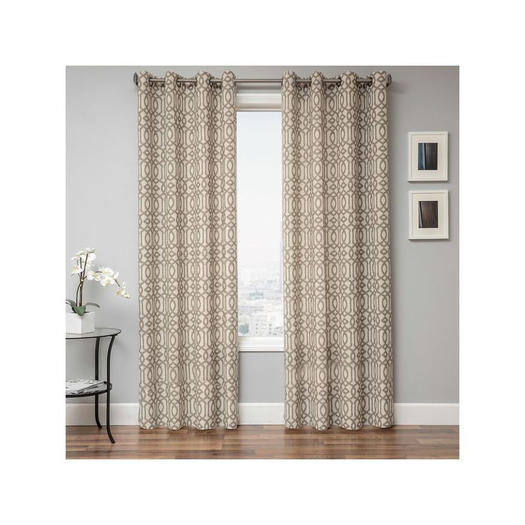 4d95de2aab0 Gray Sheer Curtains With Grommets.Indoor Outdoor Grommet Top ...