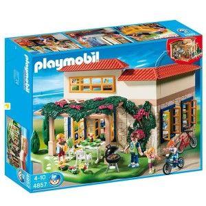 Maison De Campagne  - marque : PLAYMOBIL Une maison de campagne complète livrée avec de nombreux accessoires !... prix : 78,56 €  chez Jeprogresse.com #PLAYMOBIL #Jeprogresse.com