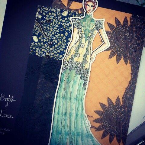 Batik & Lace by Hany Mustikasari