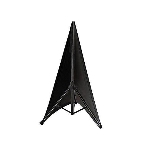 Pyle PSCRIMW2 Universal Light Tripod Stand Scrim Skirt Trim DJ Speaker - Black - http://Media-Streaming-Devices.co.uk/product/pyle-pscrimw2-universal-light-tripod-stand-scrim-skirt-trim-dj-speaker-black/