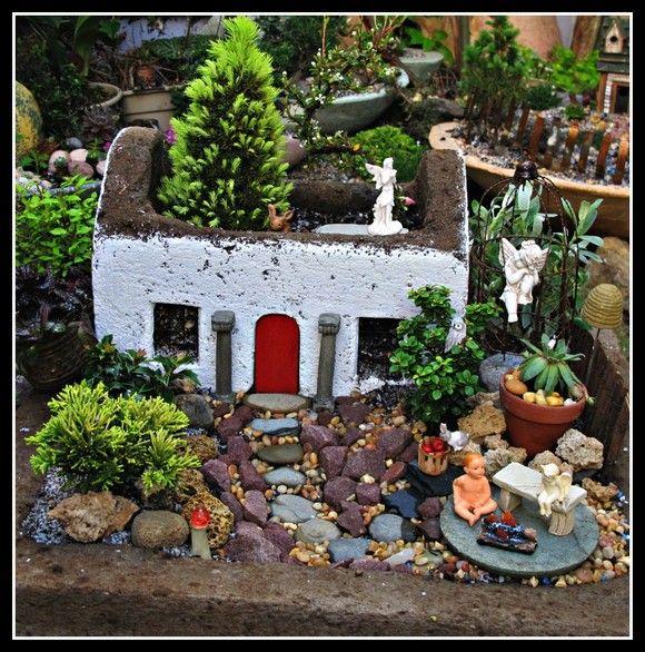 Garden Galleries   Irish Seaside Cottage in Ruins Miniature Fairy Garden    GardenWeb212 best Fairy Gardens images on Pinterest   Fairies garden  Fairy  . Fairy Garden Ornaments Ireland. Home Design Ideas