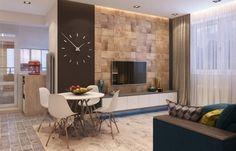 Проект московской квартиры с открытой террасой | Свежие идеи дизайна интерьеров, декора, архитектуры на INMYROOM