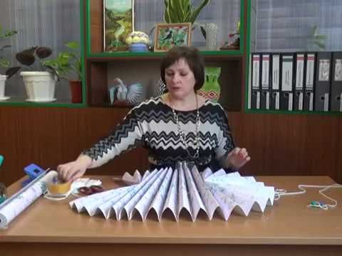 Как сделать жалюзи из обоев Мастер класс от Ангелины Быковой - YouTube
