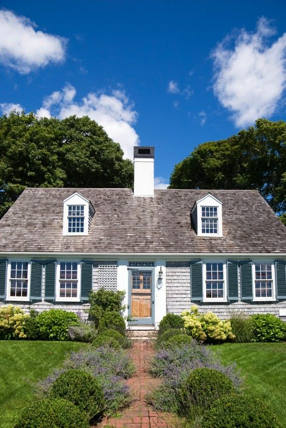 Cape cod architecture early american settlers developed for Small cape