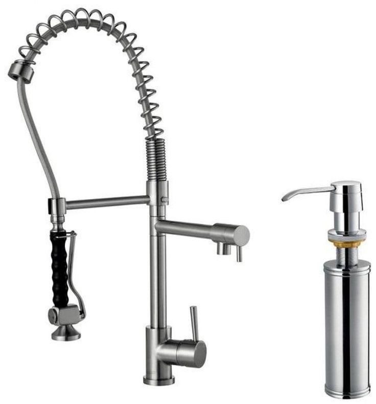 Kitchen:Photos Of Modern Commercial Kitchen Faucets : Modern Kitchen Faucets Stainless Steel Ultra Modern Kitchen Faucet Designs Ideas - Ind...